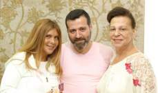 ألين لحود وجناح فاخوري ورسالة إنسانية للتوعية ضد سرطان الثدي