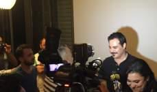 """الأسرة الإعلامية اللبنانية تقضي نهاراً مع أسرة مسلسل """"العرّاب"""" في البرباره"""