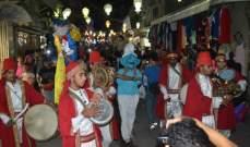 بالصور- مسرح إسطنبولي ينظم كرنفال الشارع في صور بمناسبة عيد الفطر