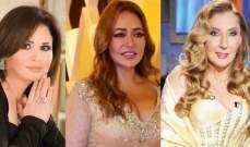 نادية الجندي وزينة وإلهام شاهين وليلى علوي يتألقن في زفاف شريف هاني شاكر-بالصور