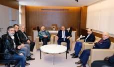 خاص الفن- مجلس المؤلفين والملحنين في لبنان يزور وزيري الإعلام والثقافة
