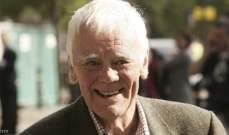 وفاة الممثل البريطاني توني بوث عن عمر ناهز 85 عاماً