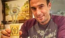 جائزة أفضل ممثل لـباسم مغنية بمهرجان نايس السينمائي الدولي.. بالصورة