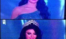 سقوط مدوي في حفل انتخاب ملكة جمال لبنان 2014