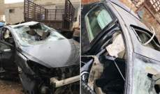 ممثل سوري يتعرض لحادث سير خطير وإبنته تكشف عن حالته الصحية