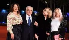 مارتن سكورسيزي يساند زوجته على السجادة الحمراء في روما..بالصور