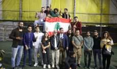"""""""روح الثورة"""" مسرحية لبنانية عراقية تتناول الحراك الشعبي في البلدين.. بالصور"""