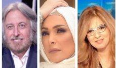 خلاف بين أمل حجازي ومريم البسام.. وجمال فياض يتدخل