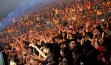 بيروت تتراقص طرباً على أنغام فنانين أحيوا مهرجان الأغنية الشرقية