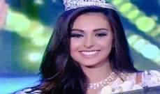 فاليري أبو شقرا تتوّج ملكة جمال لبنان لعام 2015