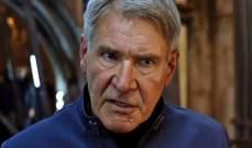 تغريم شركة إنتاج بريطانية بسبب إصابة هاريسون فورد في Star Wars
