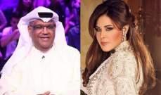 بطريقتها الخاصة.. أحلام تهنئ نبيل شعيل على ألبومه الجديد