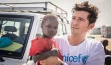 أورلاندو بلوم حزين جداً بسبب زيارته الأخيرة للنيجر..بالصور