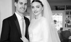 بالصور... زواج ميرندا كير من مؤسس سنابشات