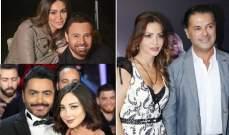 هكذا إلتقى راغب علامة وعاصي الحلاني وتامر حسني وغيرهم بزوجاتهم لأول مرة