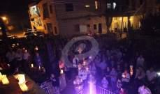 غبريال عبد النور يغني ويضيء شعلة السلام بمناسبة يوم السلام العالمي