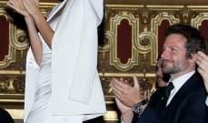 برادلي كوبر وايرينا شايك ثنائي رائع في فرنسا