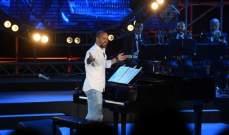 ميشال فاضل ينثر نغماته الموسيقية في سماء غلبون..ولهذا السبب غابت كارول سماحة