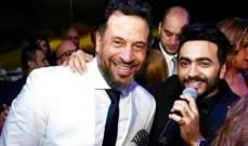 """تامر حسني يكشف عن أخطر مشهد مع ماجد المصري في """"البدلة"""".. بالفيديو"""