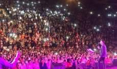 """صابر الرباعي يختتم مهرجان """"بنزرت"""" أمام 13 ألف شخص- بالصور"""