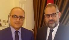 في إطار تكريم مراسلي الاخبار..زكريا فحام يزور السفير التونسي