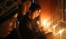 وقفة تضامنية رفضاً للارهاب أمام مسرح إسطنبولي في صور..بالصور