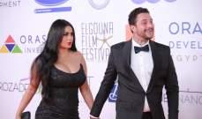 زوجة أحمد الفيشاوي تثير الجدل برقصها بالشارع..بالفيديو