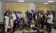 """المطران جوزيف معوّض يزور جمعية """"نسروتو"""" ويُحاضر في """"سنة الرحمة"""""""