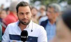 """مراسل """"الجديد"""" حسان الرفاعي بوضع حرج بعد إصابته بإنفجار بيروت"""