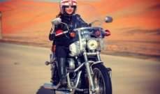 غابريال ابو راشد تحصد لقباً في سباق الدراجات