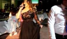 حسنا مطر تحتفل مع جمهورها في كردستان بعيد الفطر.. بالصور