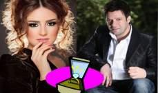 """خاص الفن - زين العمر يطلب يد رشا الخطيب ويهديها اغنية """"طالب قربك"""""""