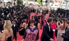 """ميرنا يونس أول عربية بين نجوم هوليوود في مهرجان """"كان"""""""