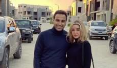 أحمد فهمي برسالة دعم لزوجته هنا الزاهد-بالصورة