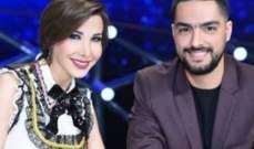 بالصورة- نانسي عجرم تعايد حسن الشافعي بعيد ميلاده.. والأخير يرد