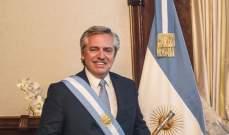 رغم تلقيه اللقاح.. الرئيس الأرجنتيني يصاب بكورونا