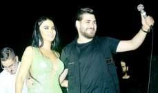 ليال عبود تغني مع محمد المجذوب في اللاذقية