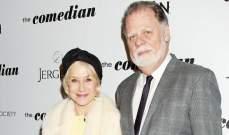هيلين ميرن تدعم زوجها في أول فيلم له خلال 3 سنوات