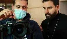 """بالصور- طوني قطان ينتهي من تصوير """"نسيني وغاب"""" مع المخرج عبد الرحمن عيسى"""