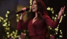 خاص الفن- هبة طوجي تكشف تفاصيل حفل عيد الميلاد: