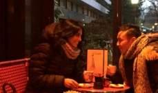 """خاص """"الفن""""- هذا هو سبب تواجد بريجيت ياغي وحاتم إدار في باريس"""