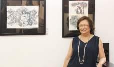 """معرض الفنانة رندا رحايل دو شدرفيان بعنوان """"روح شرقية"""""""