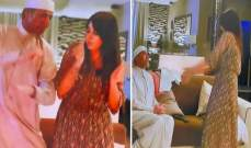 """شاهدوا رقصة أسيل عمران وفايز المالكي المثيرة على أغنية """"شوقر دادي"""" التي أثارت الجدل"""