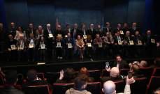جاكلين وروميو لحود وجورج شلهوب ونزار فرنسيس يكرمون من نقابة الفنانين المحترفين في ظل دعوات للمصالحة