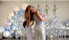 ميريام فارس تحتفل بمرور شهر على ولادة إبنها دايف.. بالفيديو