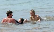 جايمي كينغ تقضي يوماً ممتعاً مع عائلتها في ماوي