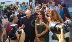 إليسا: واجبي ان أدعم سياحة بلدي..ملحم رياشي: اليسا تنقل صورة جميلة للبنان