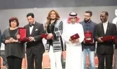 خاص بالصور-تكريم وعد وطلال مداح..واصالة تشعل حفل إفتتاح مهرجان الموسيقي للاغنية