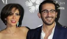 مقطع فيديو نادر يعرض للمرة الأولى من حفل زفاف منى زكي وأحمد حلمي