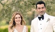 """بعد توقف مسلسله """"الفاتح"""" كينان اميرزالي يحتفل بعيد زواجه في البحر"""
